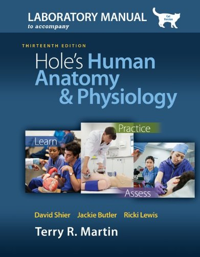 Hole's Human Anatomy and Physiology  13th 2013 edition cover