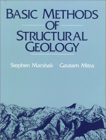 Basic Methods of Structural Geology   1988 edition cover