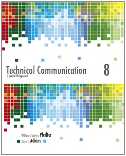 Technical Communication A Practical Approach 8th 2013 (Revised) 9780132785785 Front Cover