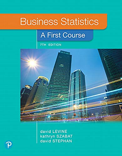 BUSINESS STATISTICS:FIRST COURSE        N/A 9780135177785 Front Cover