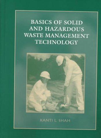 Basics of Solid and Hazardous Waste Management Technology   2000 edition cover