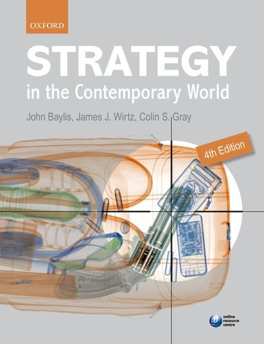 Strategy in the Contemporary World  4th 2012 9780199694785 Front Cover
