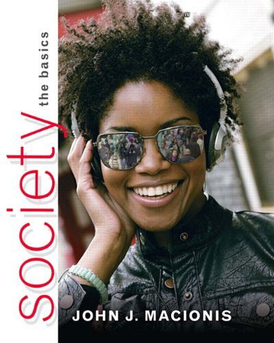 Society The Basics 11th 2011 edition cover