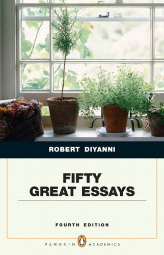 Fifty Great Essays (Penguin Academic Series)  4th 2011 edition cover