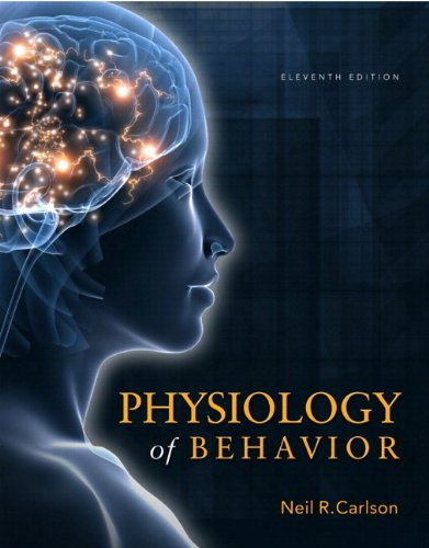 Physiology of Behavior  11th 2013 edition cover