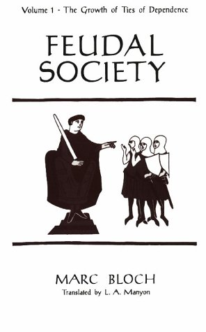 Feudal Society   1961 edition cover