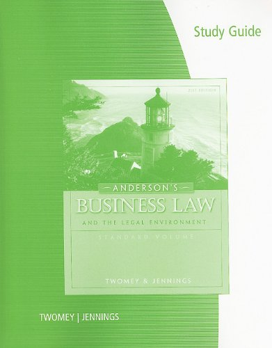 Business Law Comprehensive  21st 2011 (Guide (Pupil's)) edition cover