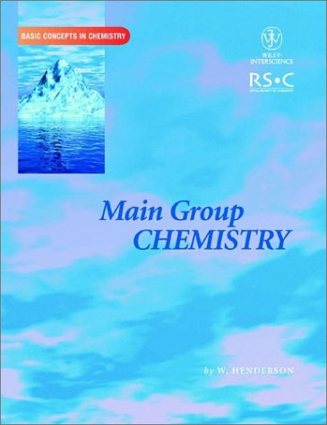 Main Group Chemistry   2002 9780471224785 Front Cover