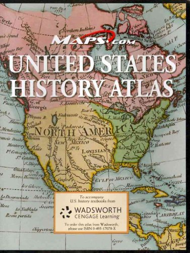 United States History Atlas   2003 9780495170785 Front Cover