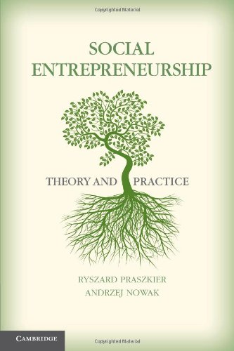 Social Entrepreneurs Theory and Practice  2011 edition cover