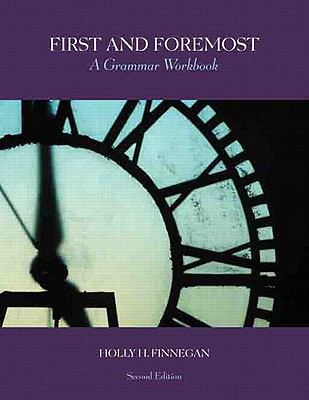 First and Foremost A Grammar Workbook 2nd 2010 edition cover