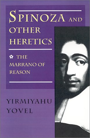 Spinoza and Other Heretics The Marrano of Reason  1992 edition cover