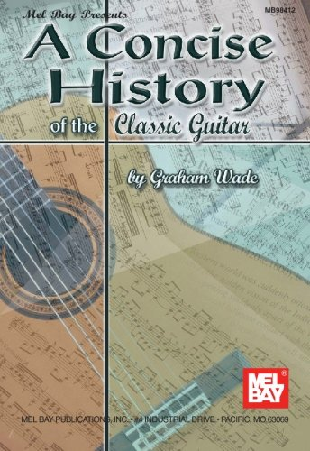 Concise History of the Classic Guitar   2001 edition cover