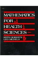 Mathematics for the Health Sciences   1982 edition cover