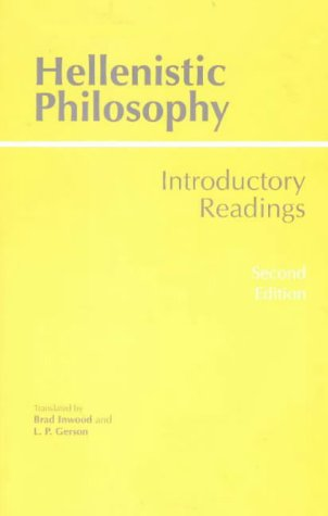 Hellenistic Philosophy Introductory Readings 2nd 1997 edition cover