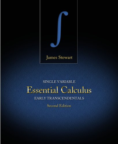 Single Variable Essential Calculus Early Transcendentals 2nd 2013 (Revised) 9781133112785 Front Cover