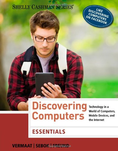 Discovering Computers 2014   2014 9781285161785 Front Cover