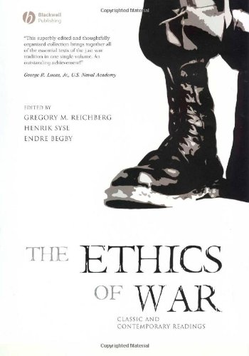 Ethics of War Classic and Contemporary Readings  2006 (Revised) edition cover