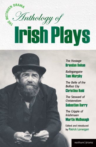 Methuen Drama Anthology of Irish Plays Hostage; Bailegangaire; Belle of the Belfast City; Steward of Christendom; Cripple of Inishmaan  2008 edition cover