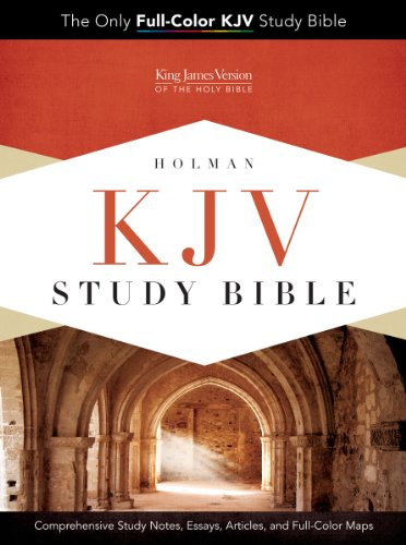 KJV Study Bible, Black Genuine Cowhide   2013 edition cover