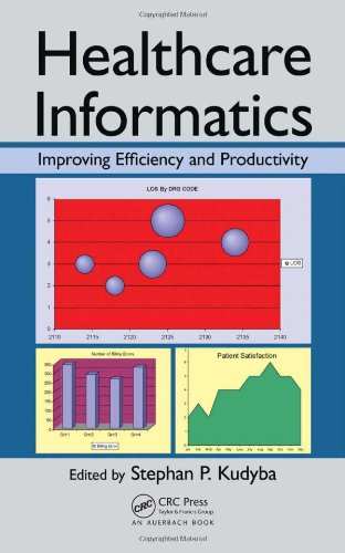 Healthcare Informatics Improving Efficiency and Productivity  2010 edition cover