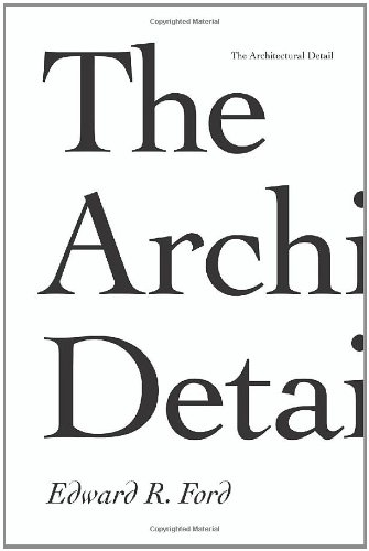 Architectural Detail   2011 edition cover