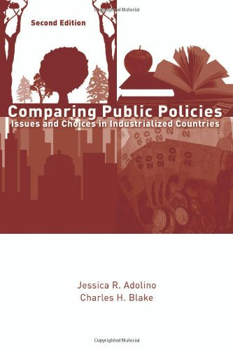 Comparing Public Policies Issues and Choices in Industrialized Countries 2nd 2010 (Revised) edition cover