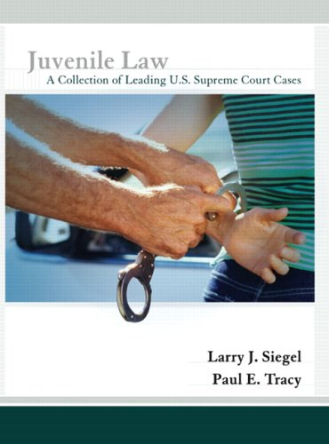 Juvenile Law A Collection of Leading U. S. Supreme Court Cases  2008 edition cover