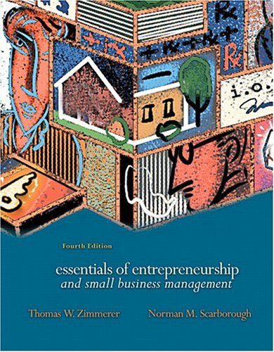 Essentials of Entrepreneurship and Small Business Management  4th 2005 (Revised) edition cover
