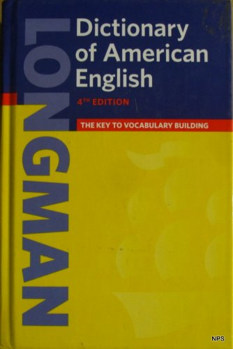 Dictionary of American English  4th 2008 9780132449786 Front Cover