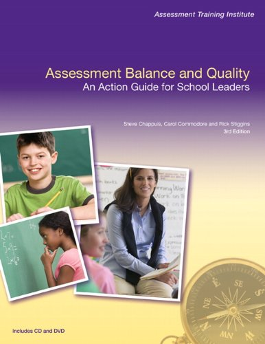Assessment Balance and Quality An Action Guide for School Leaders 3rd 2010 edition cover