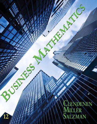 Business Mathematics  12th 2012 (Revised) edition cover