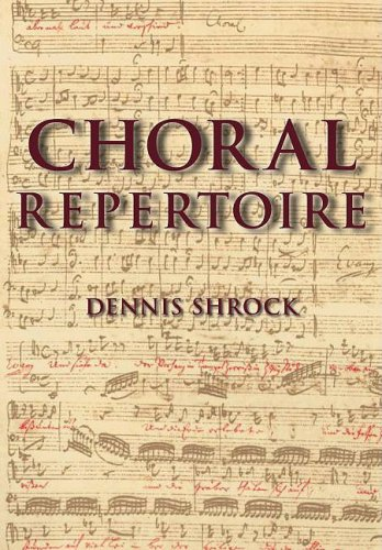 Choral Repertoire   2009 edition cover