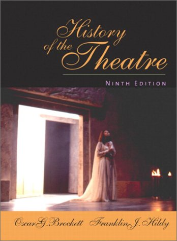 History of the Theatre  9th 2003 (Revised) edition cover