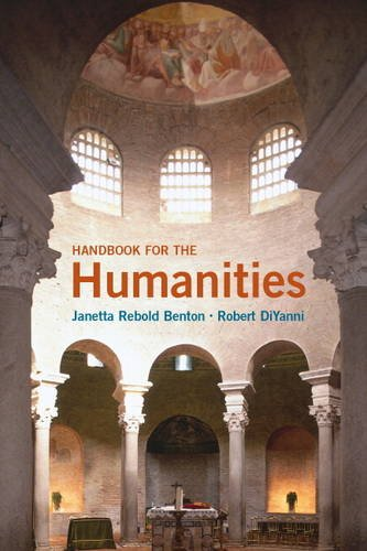 Handbook for the Humanities   2014 edition cover