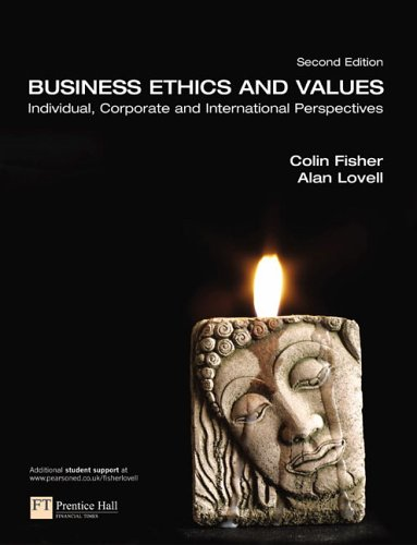 Business Ethics and Values  2nd 2006 (Revised) 9780273694786 Front Cover