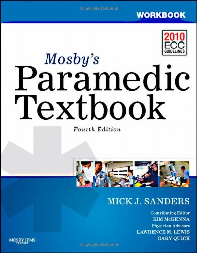 Paramedic Textbook  4th 2012 edition cover