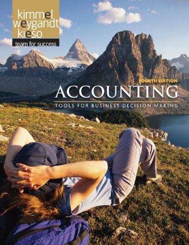 Accounting Tools for Business Decision Making 4th 2011 edition cover