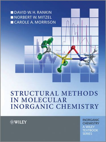 Structural Methods in Molecular Inorganic Chemistry   2012 edition cover