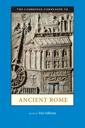 Cambridge Companion to Ancient Rome   2012 edition cover