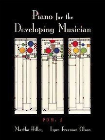 Piano for the Developing Musician  5th 2002 edition cover