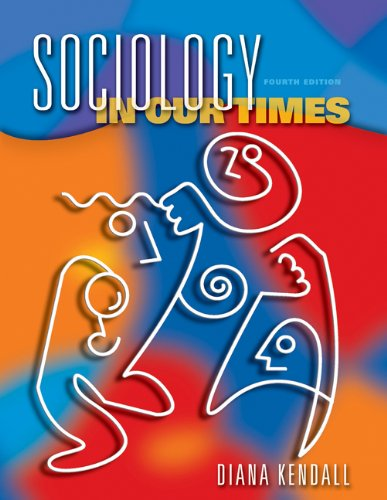 Sociology in Our Times  4th 2003 9780534588786 Front Cover