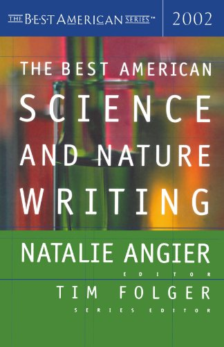 Best American Science and Nature Writing 2002   2002 9780618134786 Front Cover