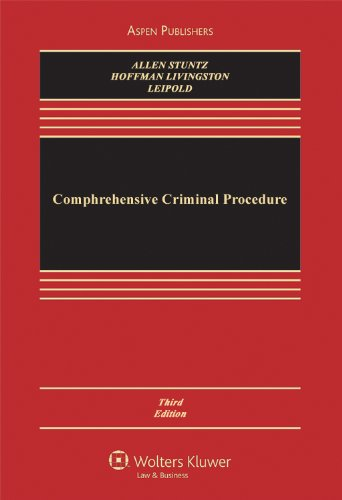 Comprehensive Criminal Procedure  3rd 2011 (Revised) edition cover