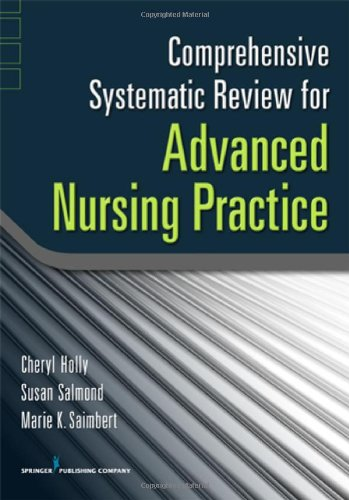 Comprehensive Systematic Review for Advanced Nursing Practice   2011 edition cover