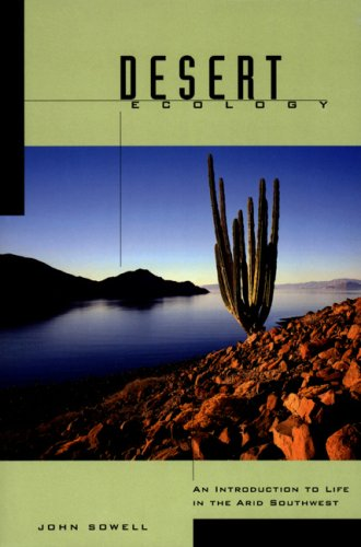 Desert Ecology An Introduction to Life in the Arid Southwest  2001 edition cover