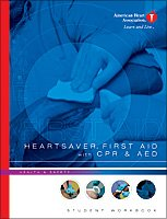 Heartsaver First Aid with CPR and AED Student Workbook  2006 edition cover