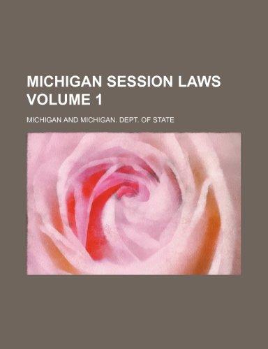 Michigan Session Laws   2010 edition cover