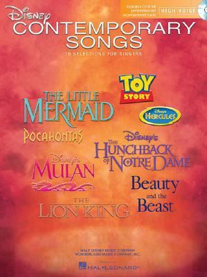 Disney Contemporary Songs 10 selections for Singers N/A edition cover