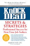 Knock 'em Dead Secrets and Strategies for First-Time Job Seekers  2013 edition cover